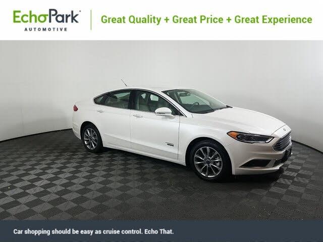2018 Ford Fusion Energi SE Luxury