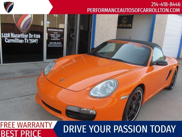 2008 Porsche Boxster Limited Edition S RWD