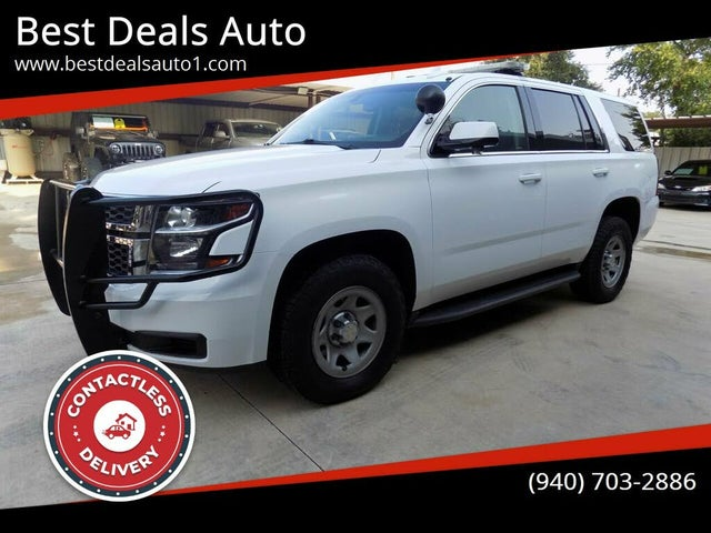 2017 Chevrolet Tahoe Special Service 4WD