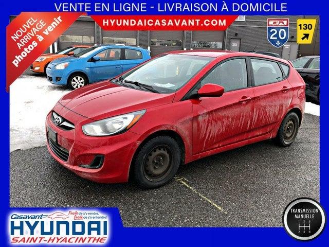 2012 Hyundai Accent L 4-Door Hatchback FWD