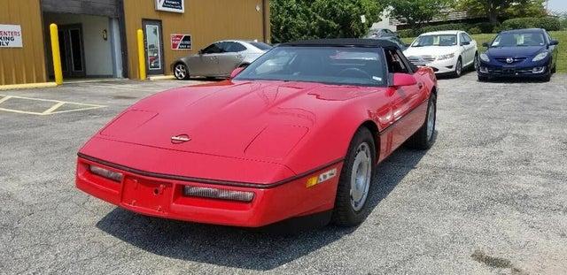 1987 Chevrolet Corvette Convertible RWD