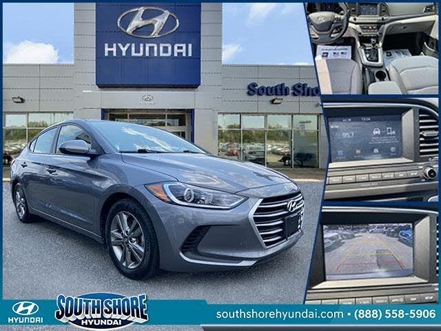 2018 Hyundai Elantra SEL Sedan FWD