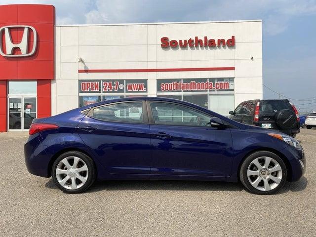 2013 Hyundai Elantra Limited Sedan FWD with Navigation