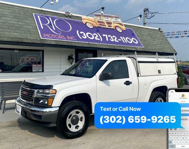 2012 GMC Canyon Work Truck 4WD