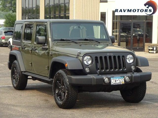 2016 Jeep Wrangler Unlimited Black Bear 4WD