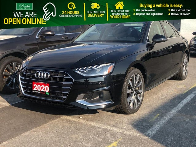 2020 Audi A4 2.0T quattro Komfort AWD