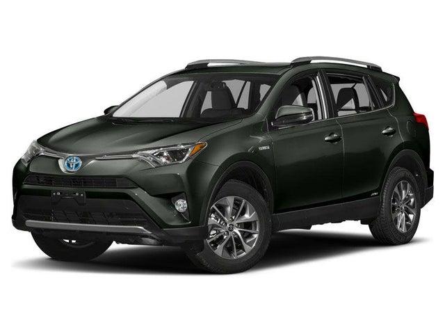 2017 Toyota RAV4 Hybrid Limited AWD