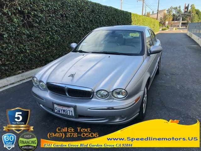 2002 Jaguar X-TYPE 2.5L AWD