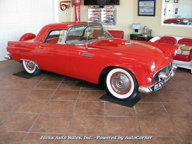 1956 Ford Thunderbird 2 Door Convertible with Removable Hardtop