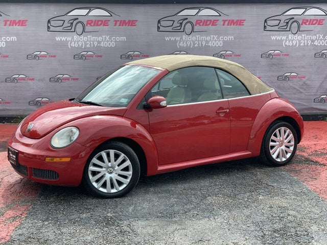 2008 Volkswagen Beetle SE Convertible