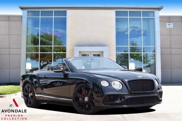 2016 Bentley Continental GTC V8 S AWD