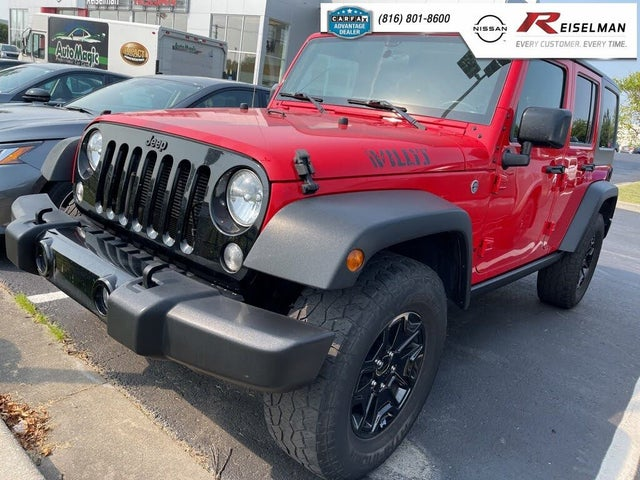 2017 Jeep Wrangler Unlimited Willys Wheeler 4WD