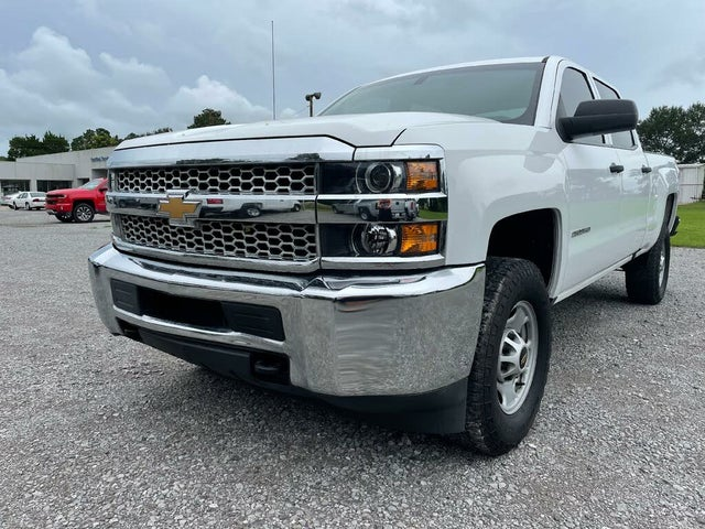 2019 Chevrolet Silverado 2500HD Work Truck Crew Cab 4WD