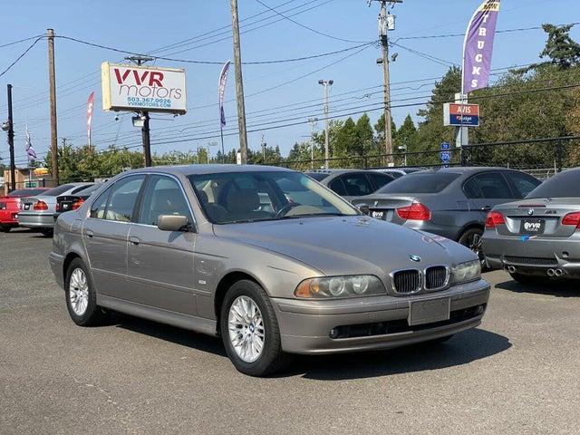 2002 BMW 5 Series 530i Sedan RWD