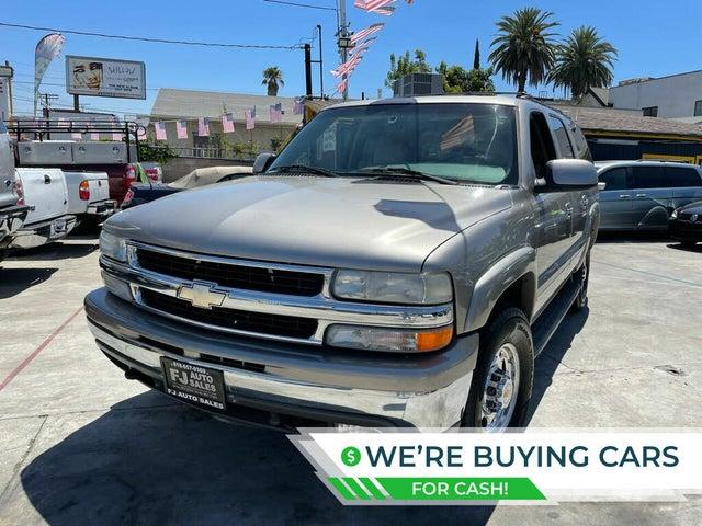2001 Chevrolet Suburban 2500 LT 4WD
