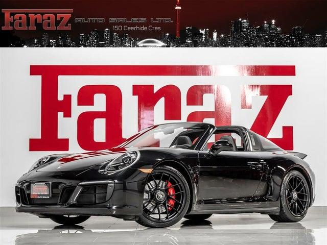 2017 Porsche 911 Targa 4 GTS Convertible AWD