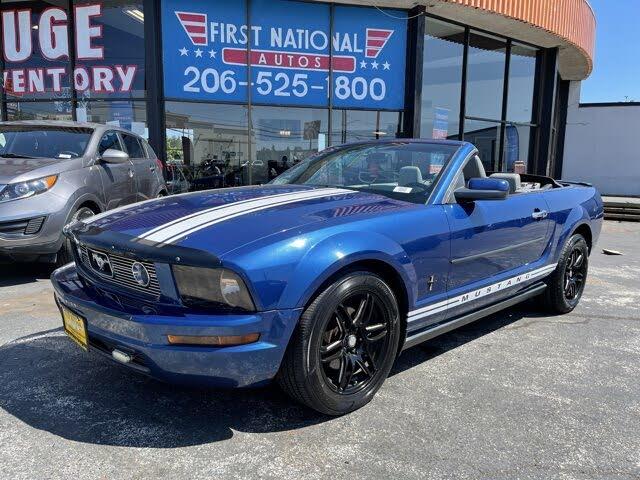 2007 Ford Mustang V6 Premium Convertible RWD