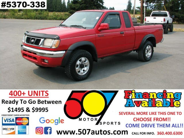 1999 Nissan Frontier 2 Dr SE 4WD Extended Cab SB