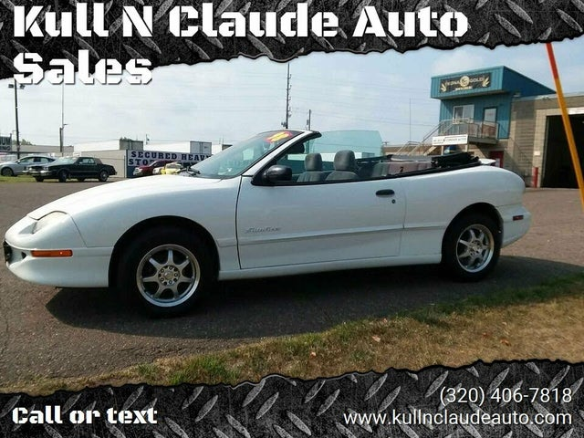 1998 Pontiac Sunfire 2 Dr SE Convertible