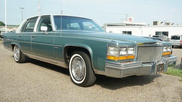 1981 Cadillac Fleetwood Brougham Sedan RWD
