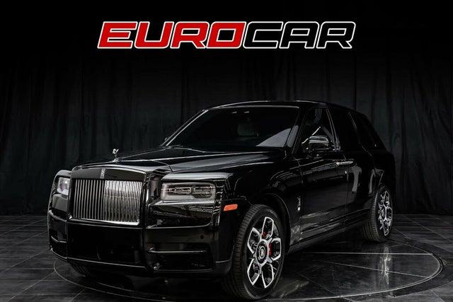 2020 Rolls-Royce Cullinan Black Radge AWD