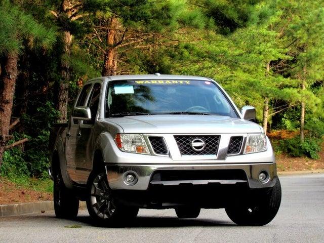 2015 Nissan Frontier PRO-4X Crew Cab 4WD