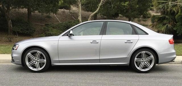 2016 Audi S4 3.0T quattro Premium Plus Sedan AWD