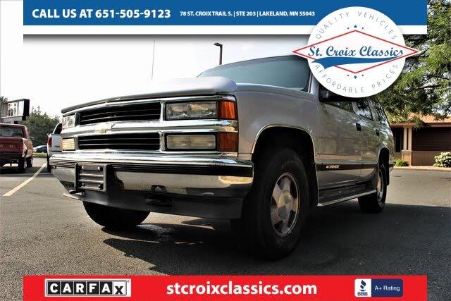 1997 Chevrolet Tahoe LT 4-Door 4WD