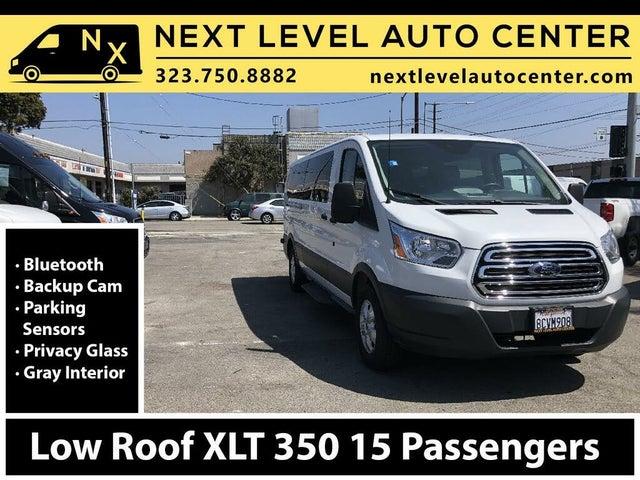 2018 Ford Transit Passenger 350 XLT Low Roof LWB RWD with Sliding Passenger-Side Door