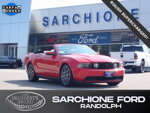 2010 Ford Mustang GT Premium Convertible RWD
