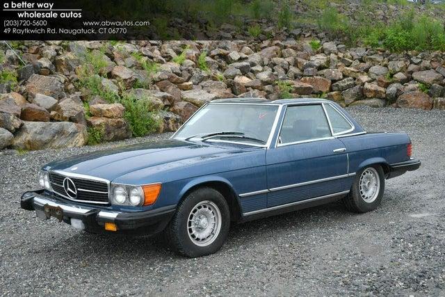 1981 Mercedes-Benz 380-Class 380SL Convertible