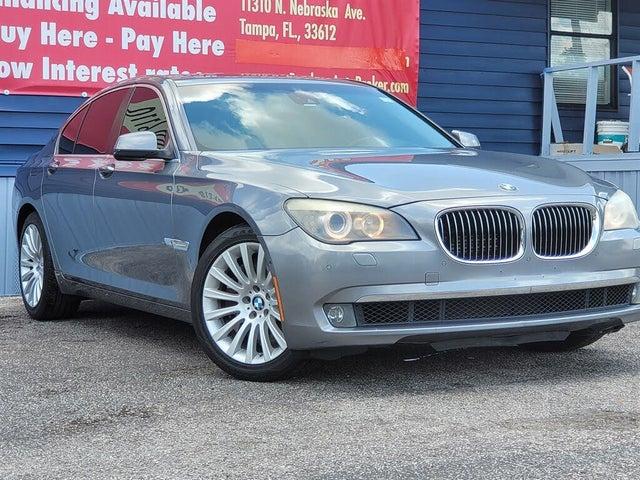 2012 BMW 7 Series 750i RWD