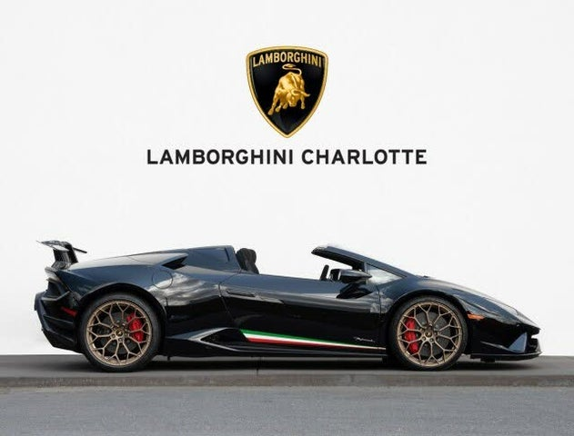2019 Lamborghini Huracan LP 640-4 Performante Spyder Convertible AWD