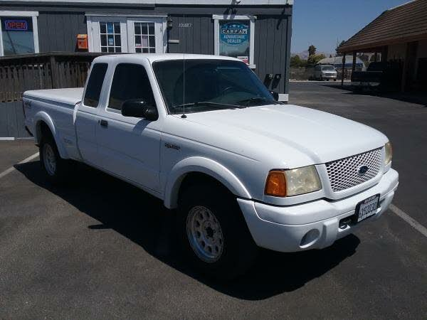 2001 Ford Ranger Edge 4 Door Extended Cab 4WD