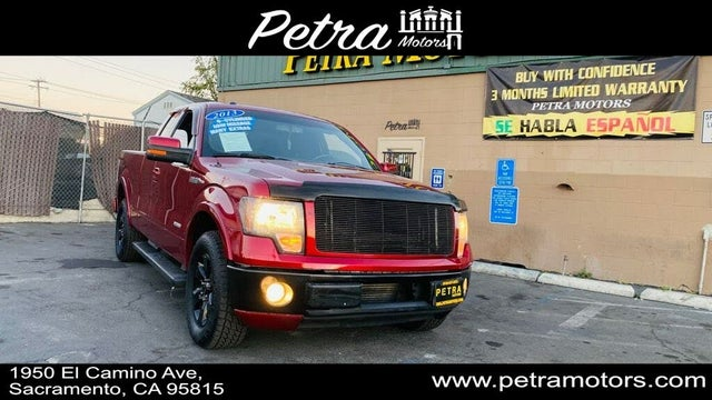 2013 Ford F-150 FX2 SuperCab