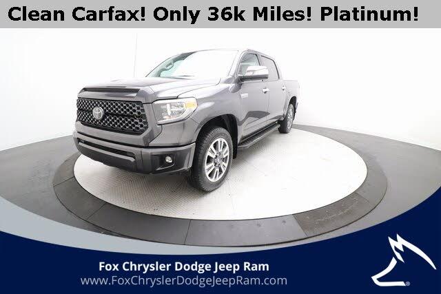 2018 Toyota Tundra Platinum CrewMax 5.7L 4WD