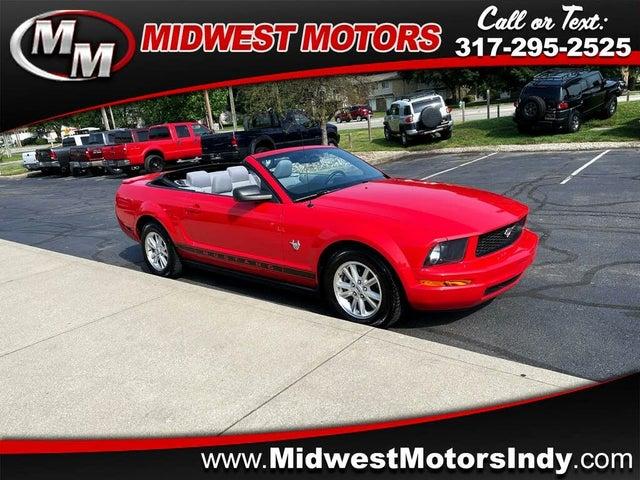 2009 Ford Mustang V6 Convertible RWD