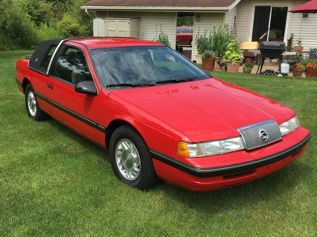 1990 Mercury Cougar LS Coupe RWD
