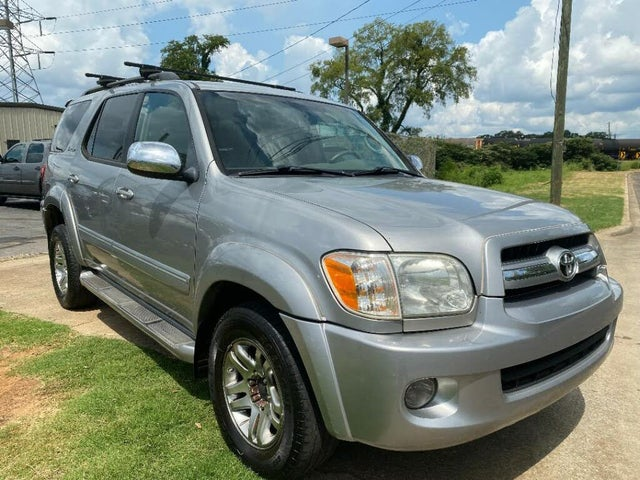 2007 Toyota Sequoia 4 Dr Limited V8 4WD