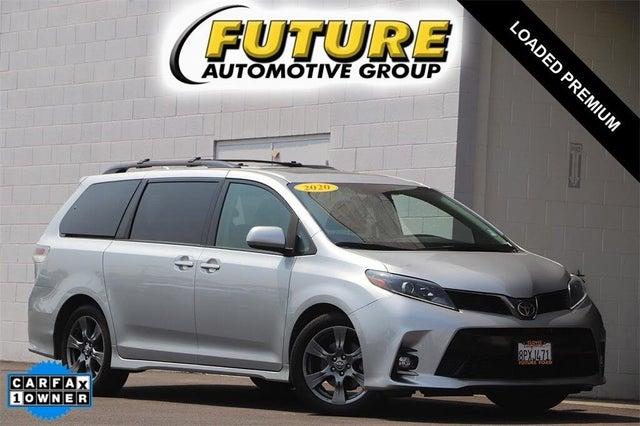 2020 Toyota Sienna SE Premium 8-Passenger FWD