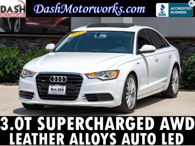 2013 Audi A6 3.0T quattro Premium Sedan AWD
