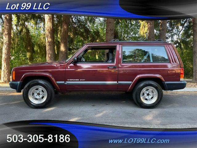 2001 Jeep Cherokee Sport 2-Door RWD