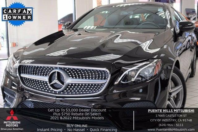 2018 Mercedes-Benz E-Class E 400 Coupe RWD