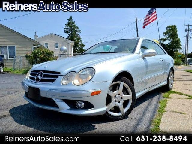 2007 Mercedes-Benz CLK-Class CLK 550 Coupe