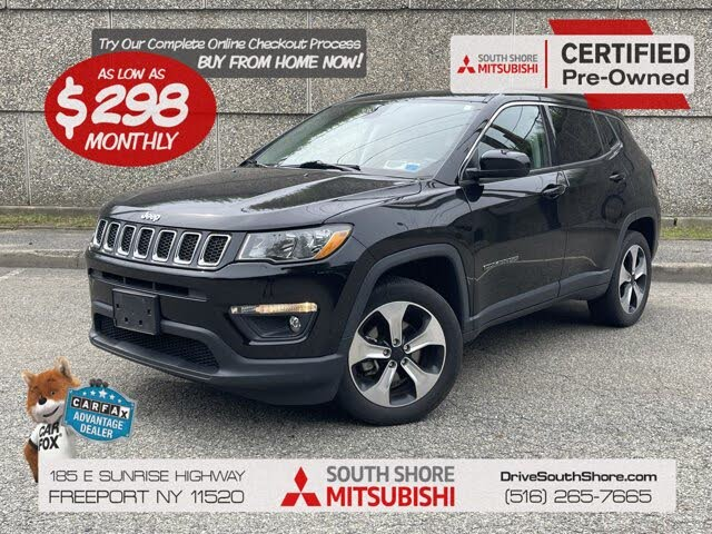 2017 Jeep Compass Latitude 4WD