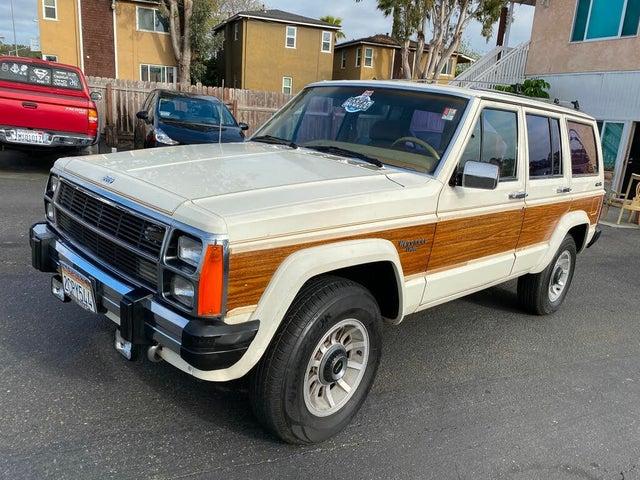 1986 Jeep Wagoneer Limited 4WD