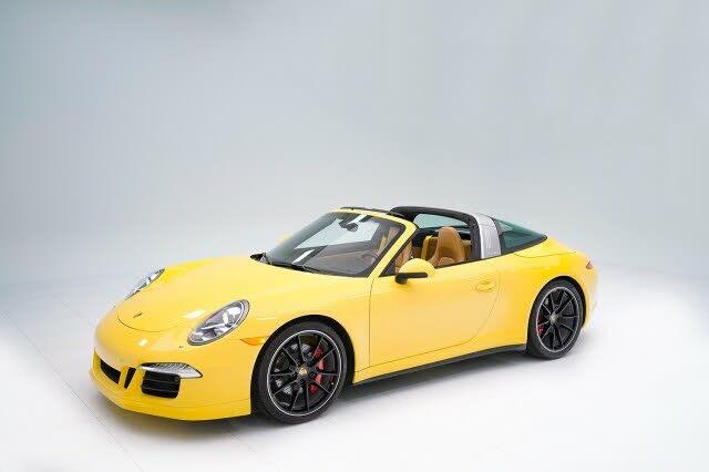 2015 Porsche 911 Targa 4S Cabriolet RWD