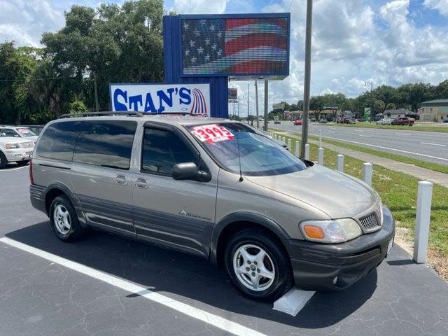 2002 Pontiac Montana 1SE Extended