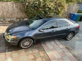 2008 Acura RL SH-AWD with CMBS and PAX Tires