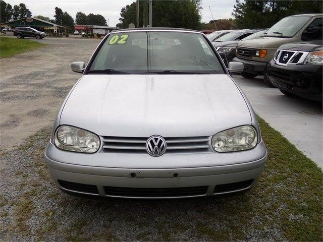 2002 Volkswagen Cabrio 2 Dr GLS Convertible